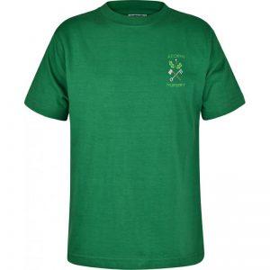 Acorns Crew Neck T-Shirt with Logo