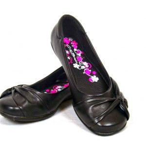 US Brass DOLLY MATT Junior Girls School Shoe
