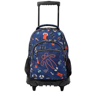 Totto BACKPACK RENGLONES  (MA03ECO006-1920P-2FI)