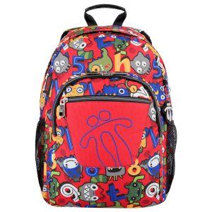 Totto BACKPACK ACUARELES  (MA04ECO021-1820N-4RY)