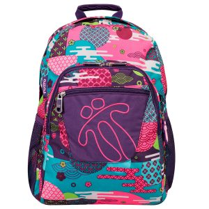 Totto BACKPACK ACUARELES  (MA04ECO021-1820N-4SJ)