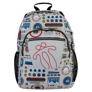 Totto BACKPACK ACUARELES  (MA04ECO021-1820N-8GM)