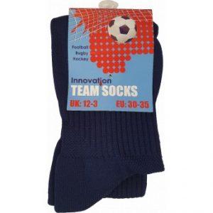 Sports Socks Black (Key Stage 2) – Pack of 2